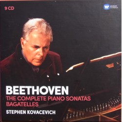 Beethoven: Klaversonate nr. 1-32. + Bagateller. Stephen Kovacevich. 9 CD. Warner