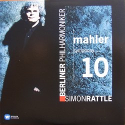 Mahler: Symfoni nr. 10. Simon Rattle, Berliner Philharmoniker. 1 CD. Warner