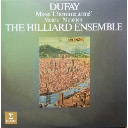 Dufay: Missa L'homme arme. Motets. The Hilliard Ensemble. 1 CD. Erato