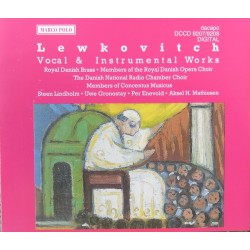 Bernhard Lewkovitch: Vocal & Instrumental Works. Royal Danish Brass. 2 CD. Dacapo
