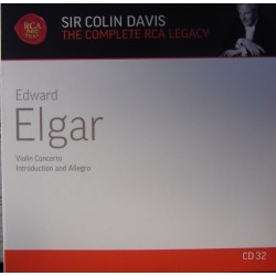Elgar: Violin Concerto + Introduction and Allegro. Kyoka Takezawa, Colin Davis. 1 CD. RCA