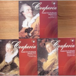 Couperin: Premier Livre de pieces de Clavecin. Book 1. (1713). Michael Borgstede. 3 CD. Brilliant Classics.