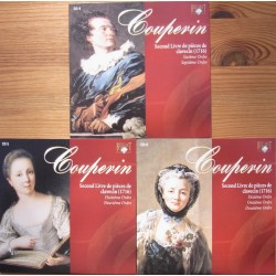 Couperin: Premier Livre de pieces de Clavecin. Book 2. (1716). Michael Borgstede. 3 CD. Brilliant Classics.