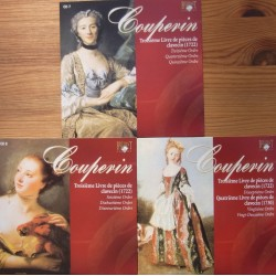 Couperin: Premier Livre de pieces de Clavecin. Book 3. (1722). Michael Borgstede. 3 CD. Brilliant Classics.