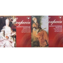 Couperin: Premier Livre de pieces de Clavecin. Book 4. (1730). Michael Borgstede. 2 CD. Brilliant Classics.