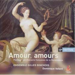 Amour, Amours. Ensemble Gilles Binchois. 1 CD. Virgin