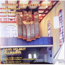 Bach: Organ Works On The Weimbs Organ. Hans Helmuth Tillmanns. 1 CD. Danacord 557