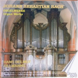 Bach: Organ Works. Vol. 8. Hans Helmuth Tillmanns. 1 CD. Danacord