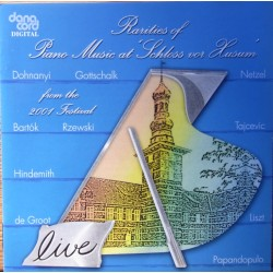 Rarities Of Piano Music at Schloss vor Husum. 1 CD. Danacord. 589