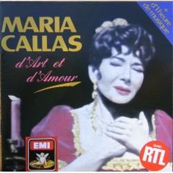 Maria Callas. D'art et D'amour. 1 CD. EMI