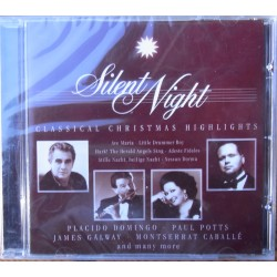 Silent Night. Classical Christmas Highlights. Domingo, Galway, Potts, Caballe. 1 CD. Sony