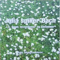 Bach: Inventions and Sinfonias. BWV 772-801. Julia Tabakova. 1 CD. Classico