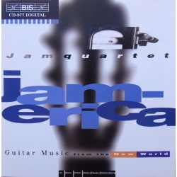 Jamerica - Guitar Music From The New World. Jam Quartet. 1 CD. BIS 977