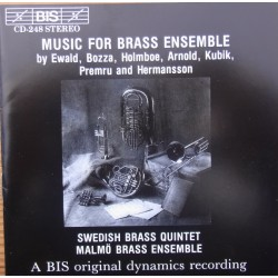 Music For Brass Ensemble. Swedish Brass Ensemble. 1 CD. BIS 248