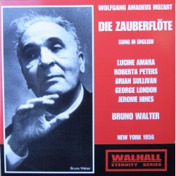 Mozart: Tryllefløjten. Amara, Peters, Sullivan, London, Hines. Bruno Walter. (New York 1956). 2 CD