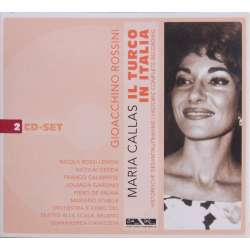 Rossini: il Turco in italia. Maria Callas, Nicolai Gedda. Gianandrea Gavazzeni. 2 CD. Membran. New Copy.