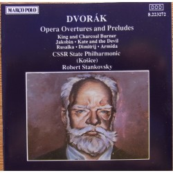 Dvorak: Overtures and Preludes. Robert Stankovsky, CSSR State Philharmonic. 1 CD. Marco Polo