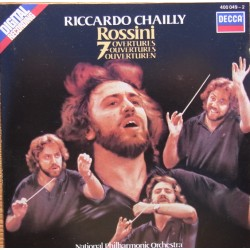 Rossini: 7 Overtures. Riccardo Clailly, National Philharmonic Orchestra. 1 CD. Decca
