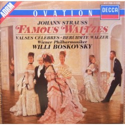 Johann Strauss: Berømte valse. Willy Boskovsky, Wiener Philharmoniker. 1 CD. Decca