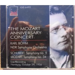 The Mozart Anniversary Concert. NDR Symphony Orchestra. Karl Böhm. 1 CD. Claves