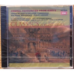 Choral favourites from King's. Choir of KIng's College. Sir David Wilcocks, Philip Ledger. 1 CD. EMI