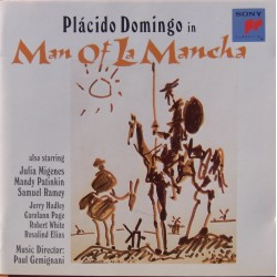 Placido Domingo: Man of la Mancha. 1 CD. Sony