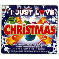 I Just love Christmas. Carols, Christmas hits and Festive favourites. 3 CD. MCPS