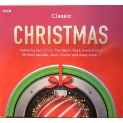 Classic Christmas. The Beach Boys, Frank Sinatra, Michael Jackson, Justin Bieber. 3 CD. MCPS