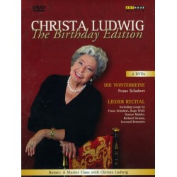 Schubert: Die Winterreise. Christa Ludwig: The Birthday Edition. 2 DVD. Opus Arte