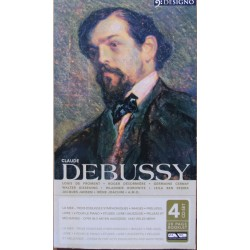 Debussy: Preludes Vol. 1 + 2. Images, vol. 1 + 2. Childrens Corner, Etudes. mm. Walther Giseking. 4 CD. Membran