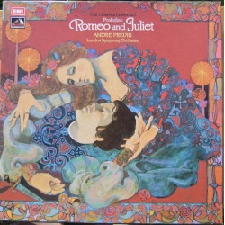Prokofiev: Romeo and Juliet. Andre Previn, London Symphony Orchestra. 3 LP. EMI. SLS 864