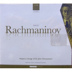 Rachmaninov: Vespers + Liturgy of St. John Chrysostom. Valery Polyansky, 3 CD. Brilliant