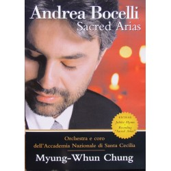 Andrea Bocelli. Sacred Arias. Myung-Whun Chung. 1 DVD. Philips