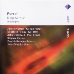 Purcell: King Arthur i uddrag. EBS, John Eliot Gardiner. 1 CD. Sony