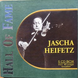 Jascha Heifetz. Hall of Fame. 5 CD. Membran