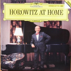 Horowitz At Home. Mozart, Schubert, Liszt. 1 CD. DG