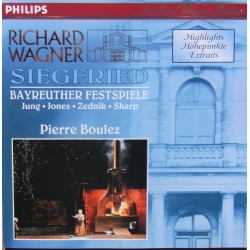 Wagner: Siegfried i uddrag. Pierre Boulez. 1 CD. Philips