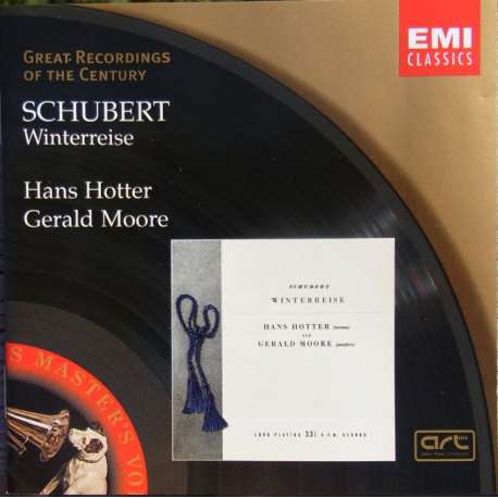 Franz Schubert: Winterreise. Hans Hotter, Gerald Moore. 1 CD. EMI Great Recordings of the Century.