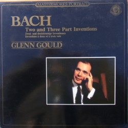 Bach: 2 and 3 part Inventions. Glenn Gould. 1 LP. CBS