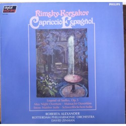 Rimsky-Korsakov: Capriccio Espagnol, Legends of Sadko. David Zinman, 1 LP. Philips