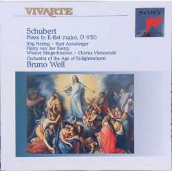 Schubert: Messe i Es-dur. D 950. Bruno Weil, Orchestra of the Age of Enlightenment. 1 CD. Sony Vivarte SK 66255