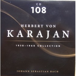 Bach: Mass in B-minor. Herbert von Karajan, Philharmonia Orchestra. 2 CD. Membran