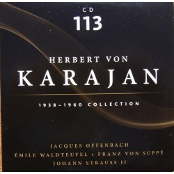 Offenbach: Gaite Parisenne, & Suppe: light Cavalry. Herbert von Karajan, Philharmonia. 1 CD. Membran
