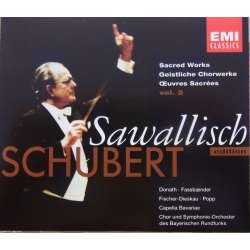 Schubert: Sacred Works. Bayrish Choir. Wolfgang Sawallisch. 3 CD. EMI