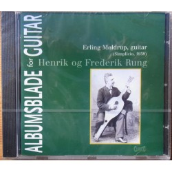 Albumsblade for guitar af Henrik og Frederik Rung. Erling Møldrup plays guitar. 1 CD. Classiso
