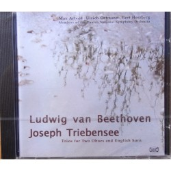 Beethoven + Triebensee: Trio for to oboer og engelsk horn. 1 CD. Classico