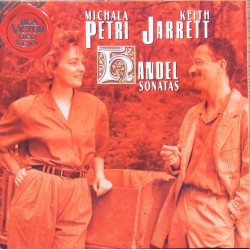 Handel: Sonatas. Michala Petri, Keith Jarreth. 1 CD. RCA