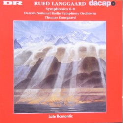 Rued-Langgard: Symphonies nos, 6, 7, 8. Thomas Dausgaard. Danish Radio SO. 1 CD. Dacapo