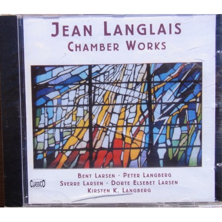 Jean Langlais: Chamber Works. 1 CD. Classico. CD 428