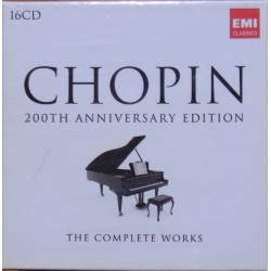 Chopin: 200th Anniversary Edition. 16 cd. EMI.